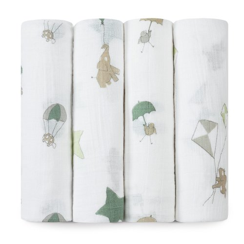 aden + anais Classic Muslin Swaddle (4 Pack)  - $49.95