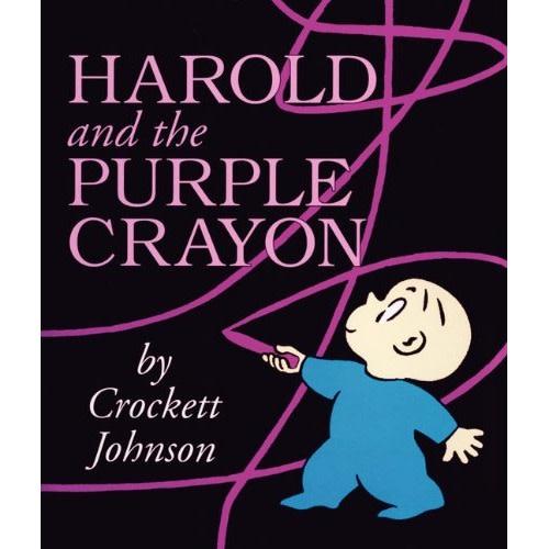 Harold and the Purple Crayon Board Book - $6.19