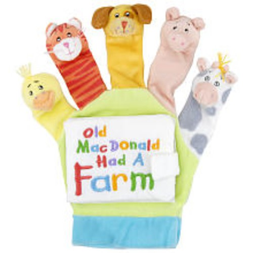 Old Macdonald: A Hand-Puppet Board Book - $9.97