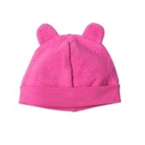 Zutano Cozie Fleece Hat - Fuchsia - 6 Months