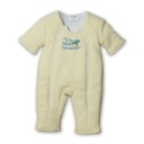 Baby Merlin's Magic Sleepsuit Combination          , Yellow Large & Yellow Large