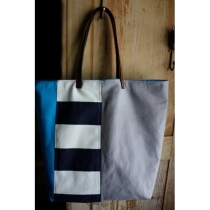 Tiny Fete Nautical Carryall by tinyfete on Etsy