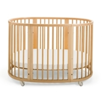 STOKKE  SLEEPI  Crib-Bed Natural