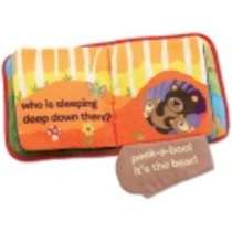 Lamaze Cloth Book          ,                               Peek-a-Boo Forest