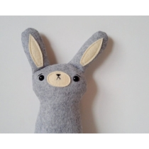 Adeline the arctic bunny by Sleepy King  Made to by sleepyking