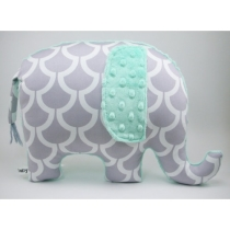 Elephant Pillow by bakerbaby