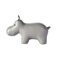 Menagerie Bookend - Grey Hippo from Serena & Lily