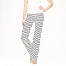Dreamy cotton pant in stripe - sleepwear - Women's Women_Shop_By_Category - J.Crew