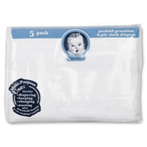Gerber 5-Pack Cloth Diapers
