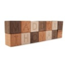 14 personalized wooden blocks alphabet letter by littlesaplingtoys