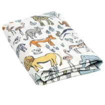 Safari Fitted Crib Sheet | DwellStudio