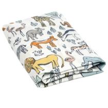 Safari Fitted Crib Sheet | DwellStudio