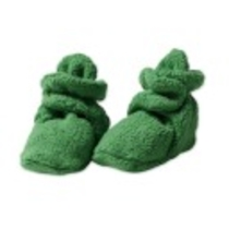 Zutano Newborn Unisex-Baby Fleece Bootie          ,                               Apple