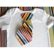 Tie ONESIE The 3D Tie ONESIE in Warm by SweetpeasBumblebees