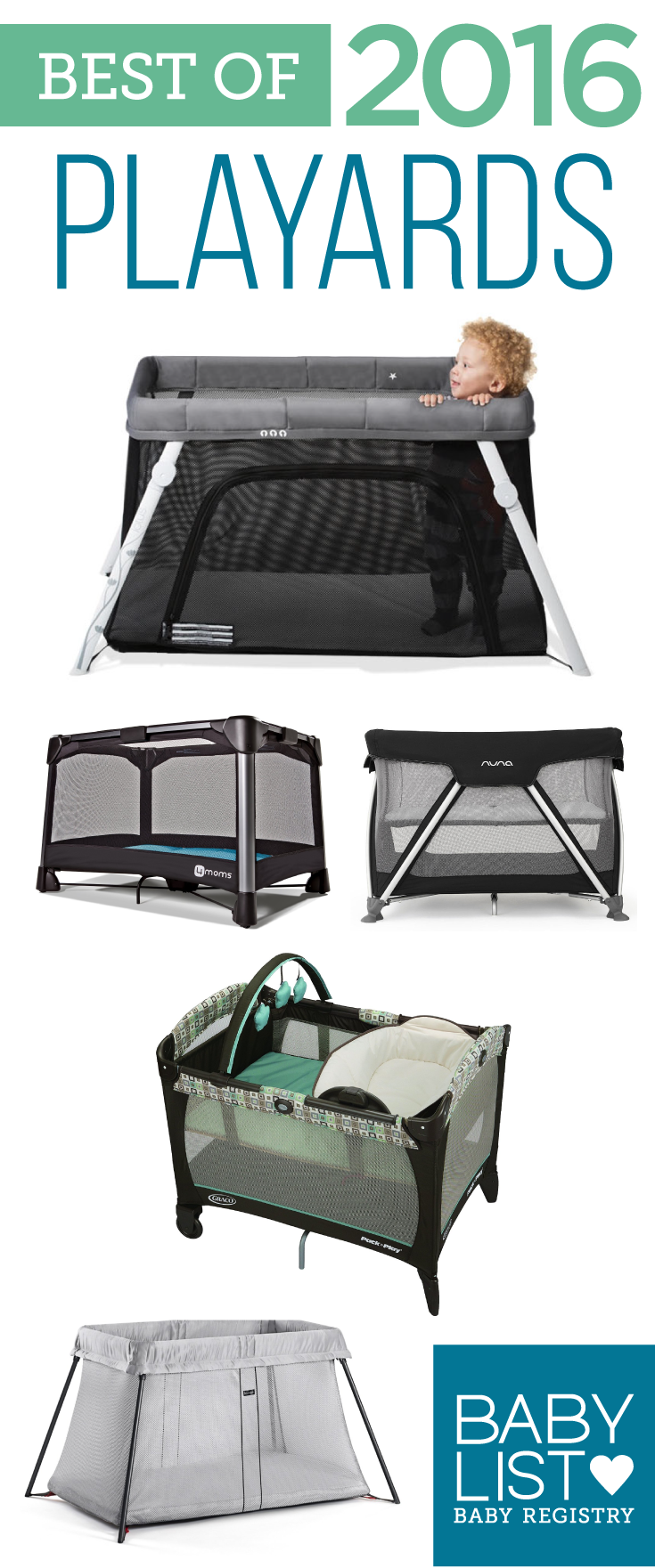 On-the-go or at home, these picks will give your little one a safe place to rest and play.