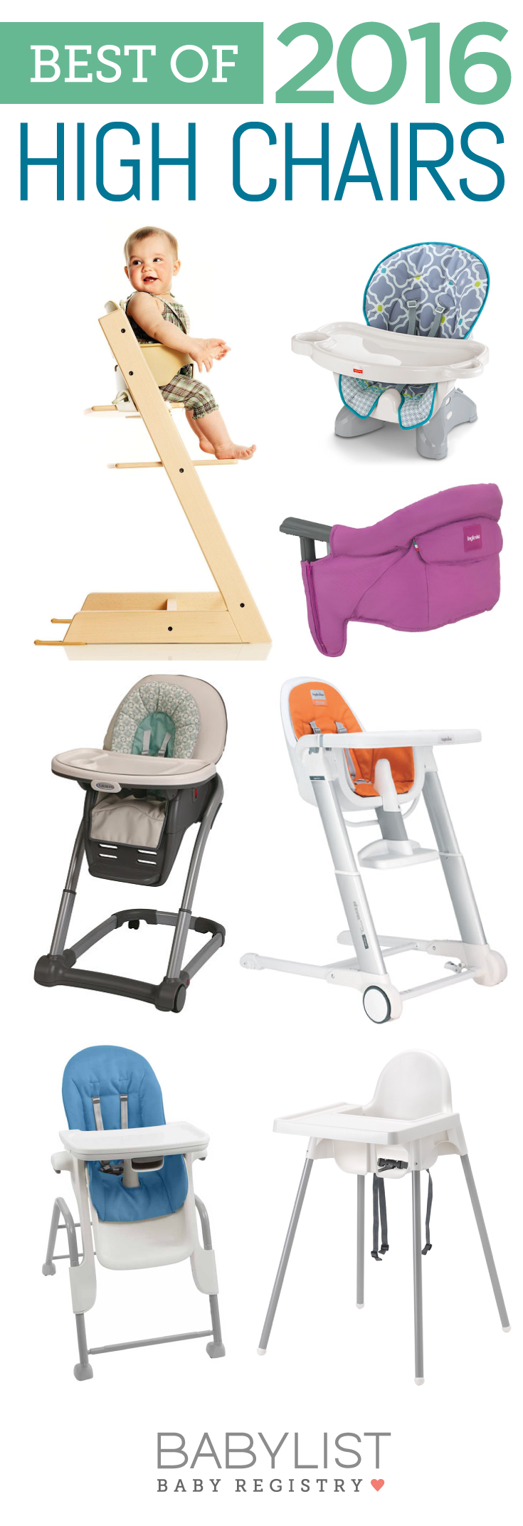There's no one must-have high chair. Every family is different. Use this guide to figure out the best high chair for your family.