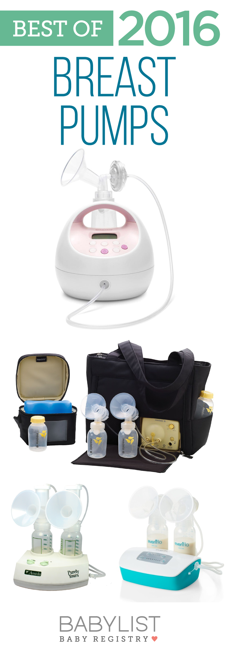 Here are the top breast pumps as voted by our users. Find one that is comfortable and fits your lifestyle.