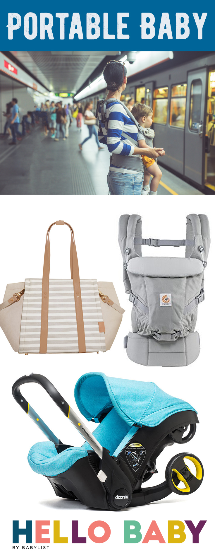 Traveling by cab, subway, or the old-fashioned sidewalk? Here's the best gear for getting out in the city with your baby.
