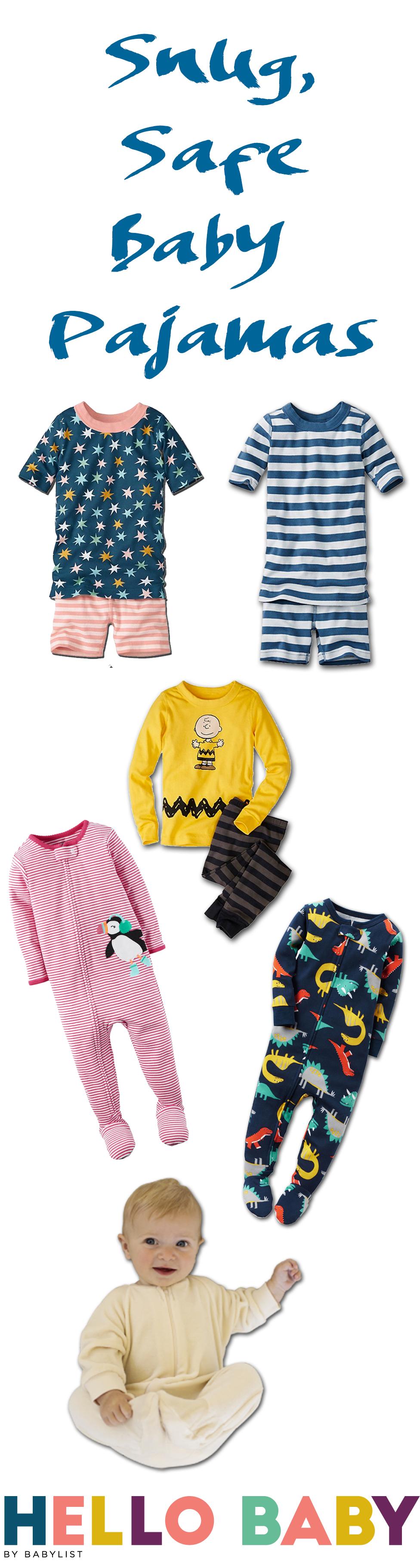 Baby Pajamas Snug And Safe
