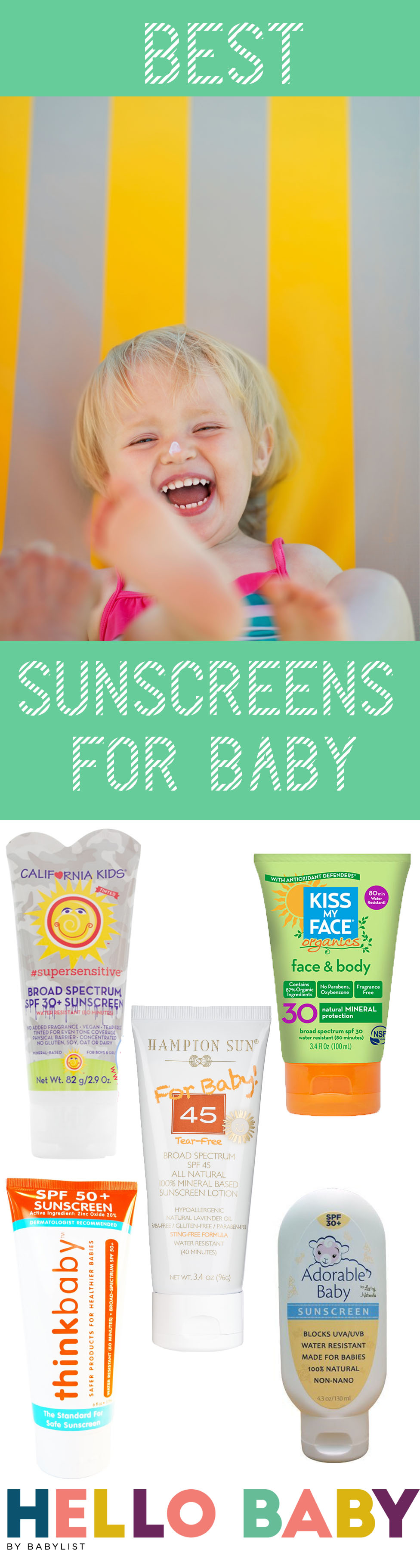 Protect your little ones with the safest and most effective sunscreens for babies.