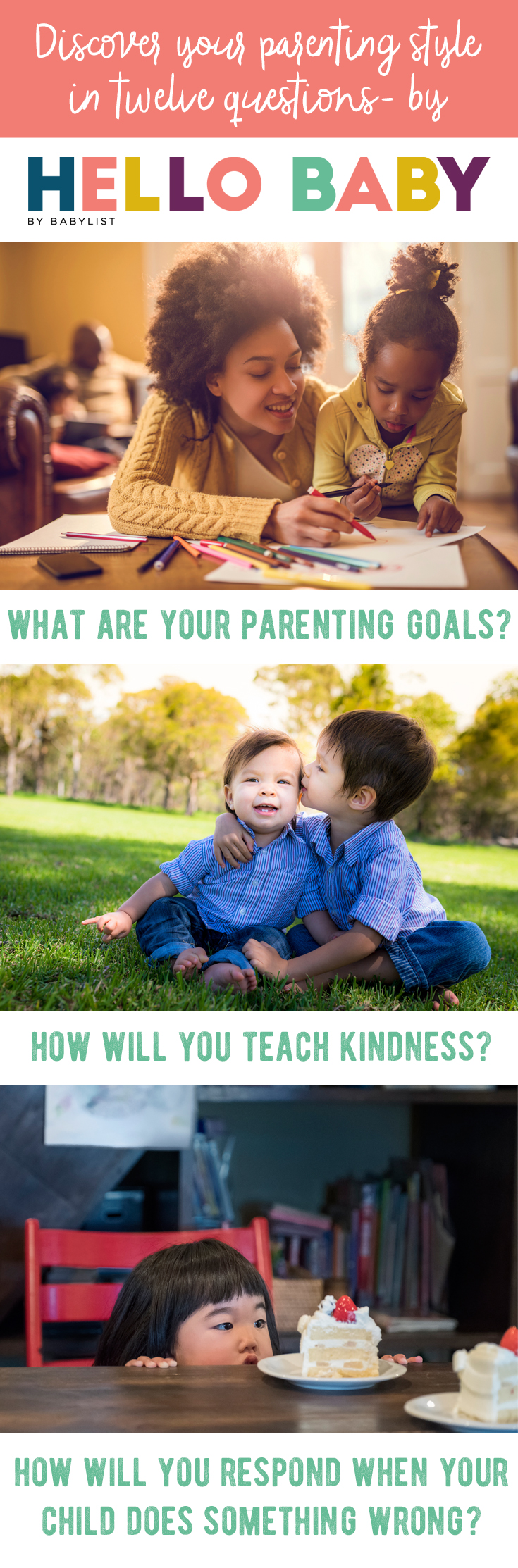 What is good parenting? There's no one right answer, but the questions in this article will help first-time parents think through what kind of parent they aspire to become. Good luck, parents: we believe in you!
