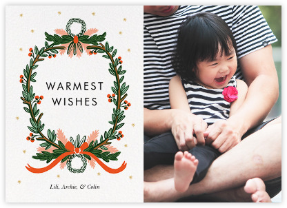 Baby Christmas Photo Cards