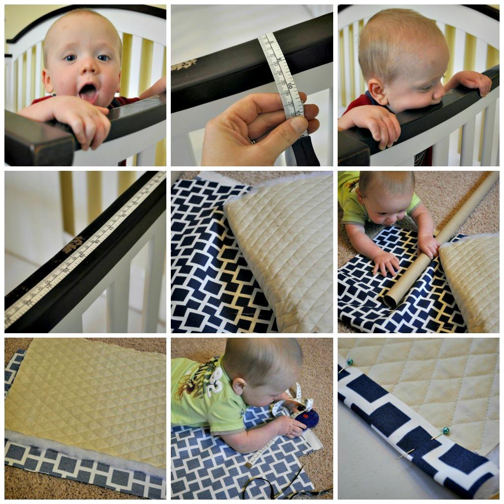 Crib protector for babies - Crib Rail