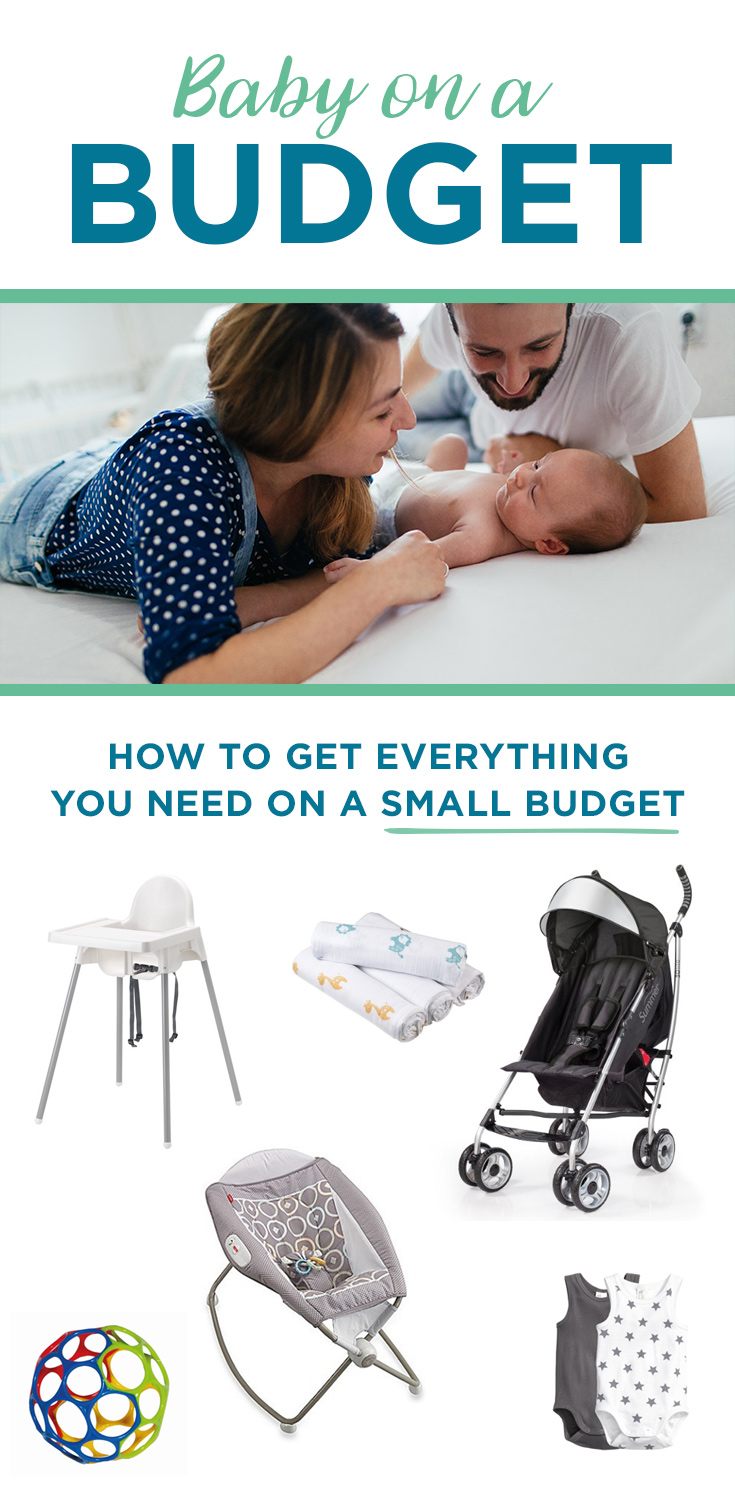 You don't have to spend a ton of money to get ready for your first baby! From your crib to your high chair, here's a complete registry of baby gear at unbeatable prices.