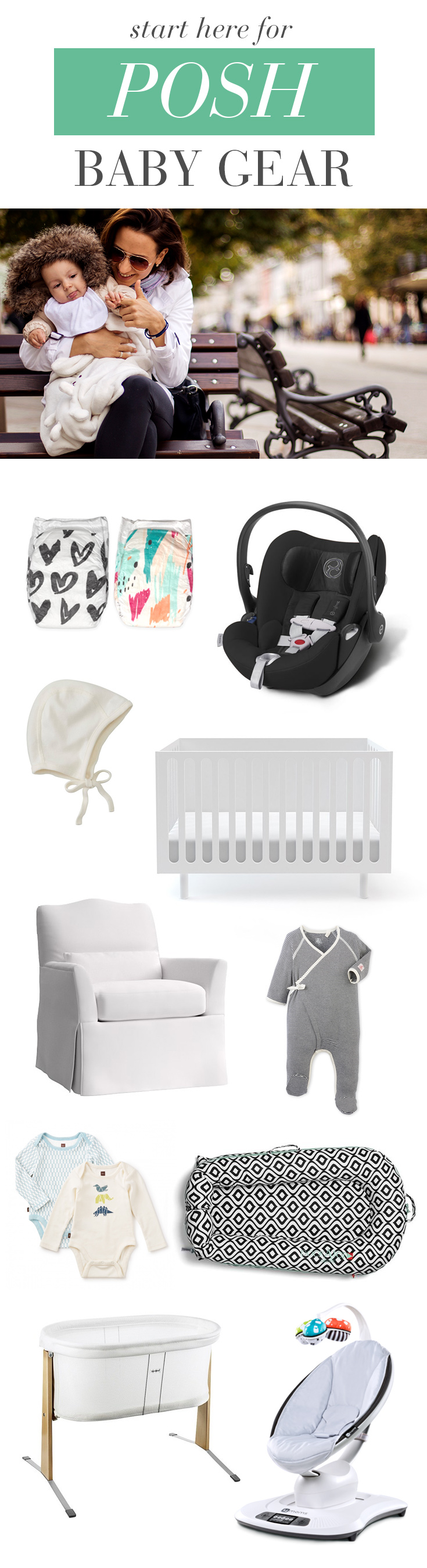 Start here if you're looking for luxury baby gear from all the best brands for your baby registry.