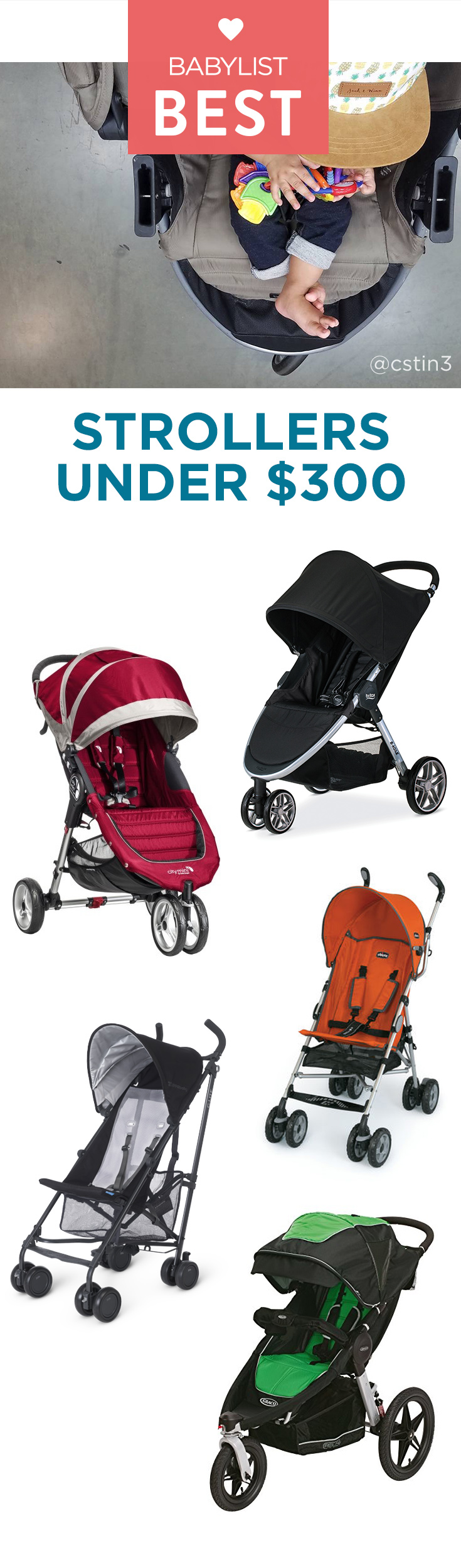 Shocked by stroller price tags? You're not alone. These great strollers won't break the bank.
