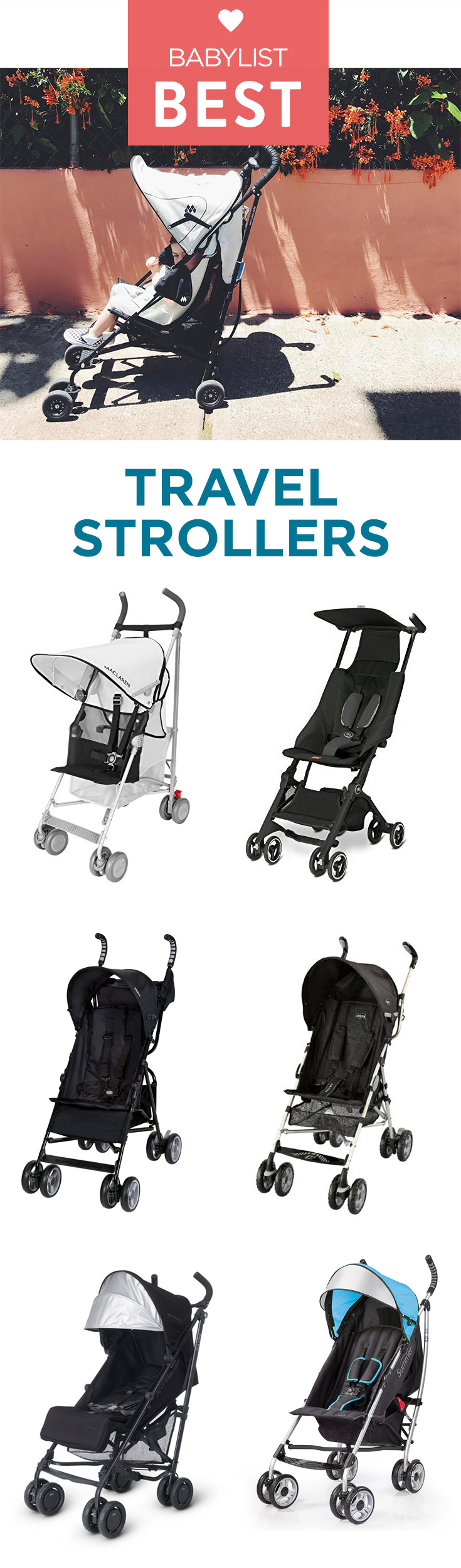 best travel strollers of 2018