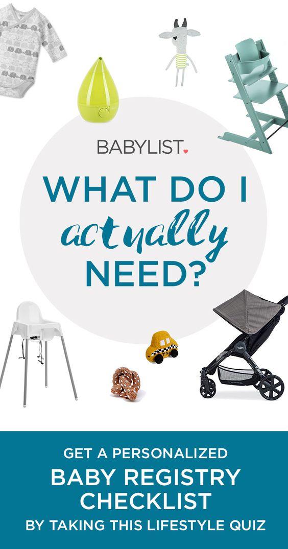 Baby Registry Checklist | Baby Registry Checklist