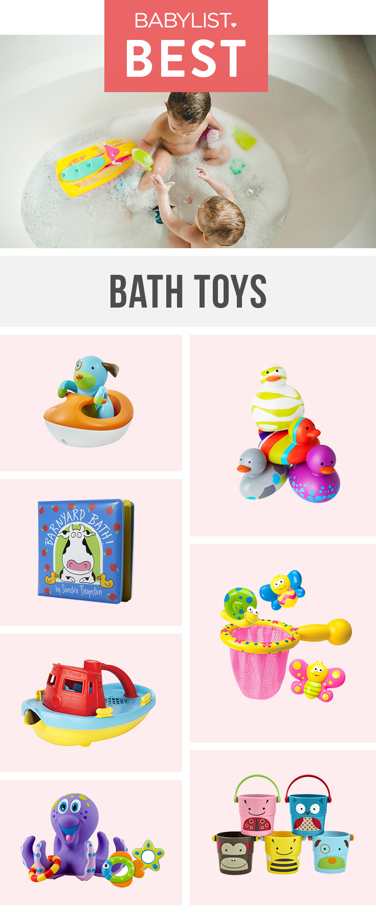 Get Squeaky Clean And Have A Ball In The Bath With These Entertaining Toys.  Best ...