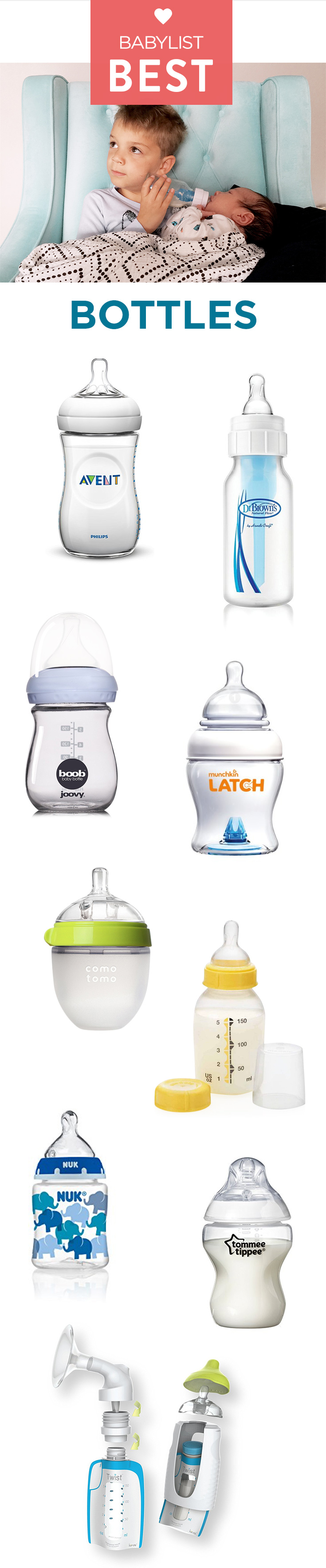 Baby bottle: how to make the right choice 73