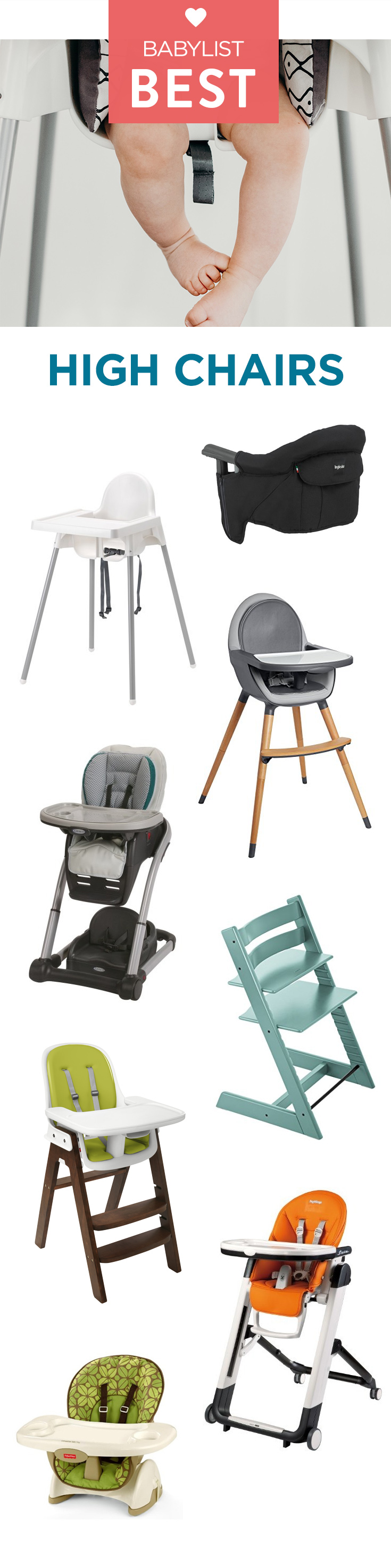sc 1 st  Babylist & Best High Chairs of 2018