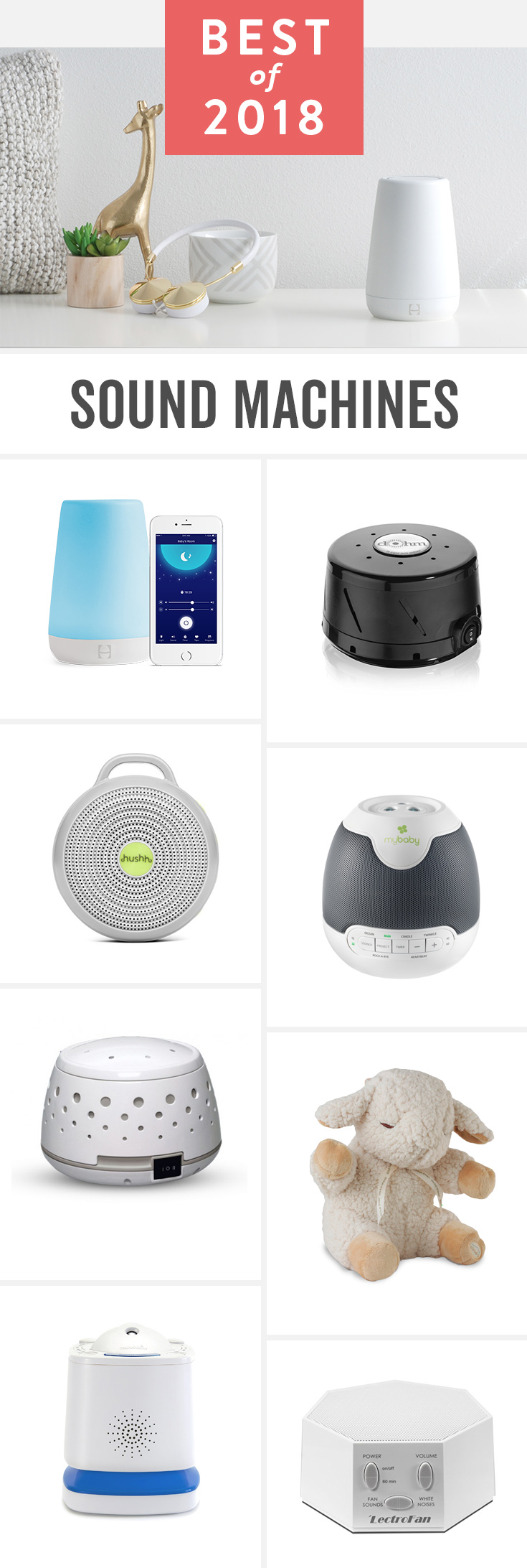 8 Best Sound And White Noise Machines Of 2019