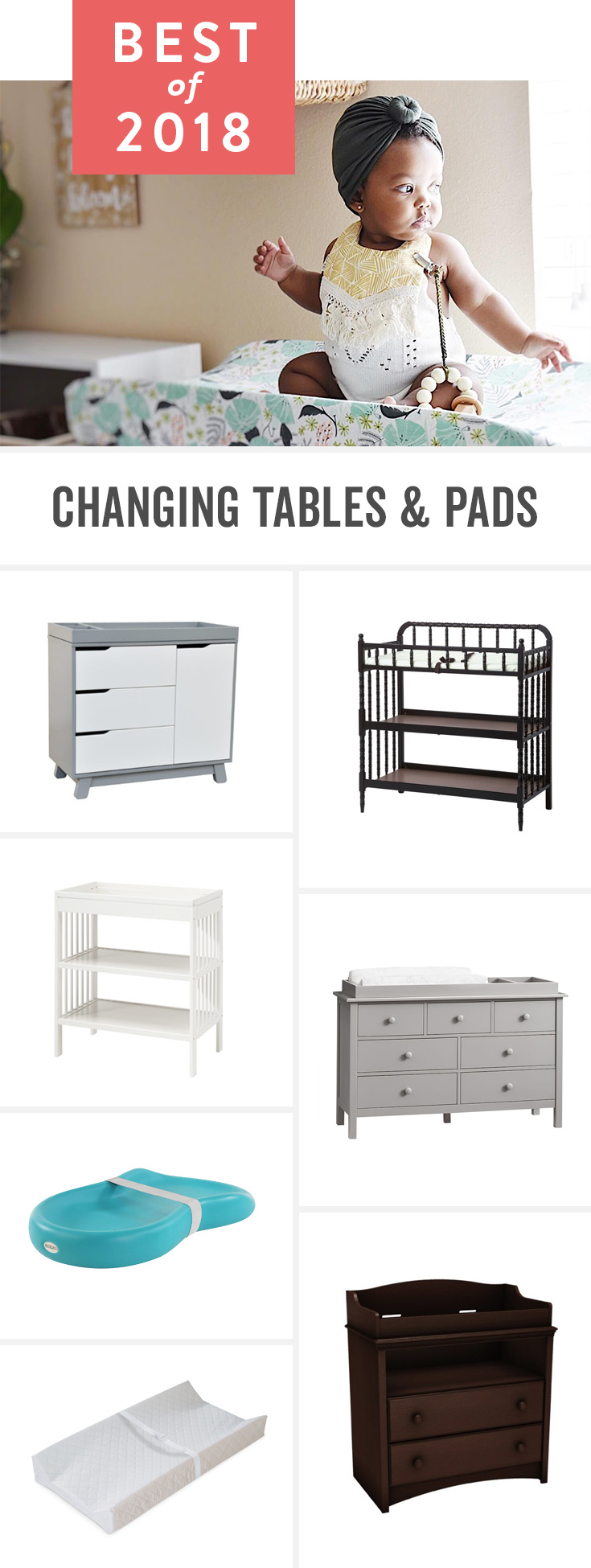 No One Likes Changing Dirty Diapers, But These Tables And Pads Make It As  Easy Best Changing Tables ...
