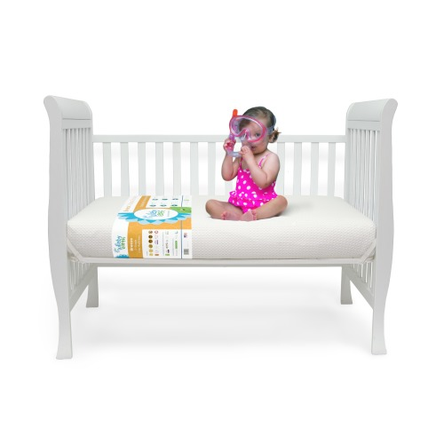 Breeze Crib Mattress (2-stage) from Lullaby Earth