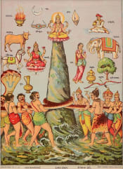 dewa dan rakhsa mengaduk samudra