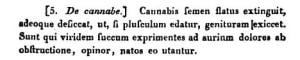 Sejarah ganja medis Yunani