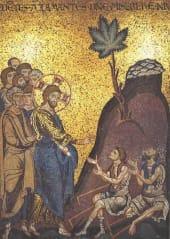 gambar ganja di gereja katedral monreale, sisilia