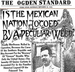 propaganda besar anti ganja di amerika