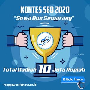 Sewa Bus Semarang Ranggawarsita Tour Murah dan Terpercaya