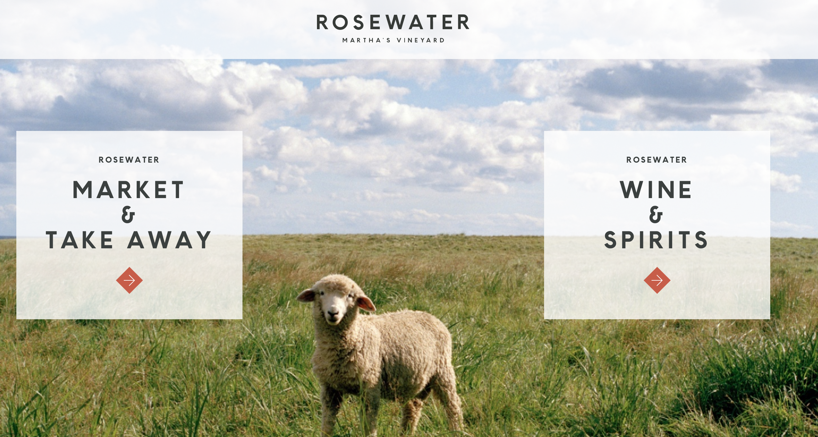 Rosewater Market website
