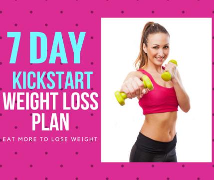 7-Day Kick Start Weight Loss Plan