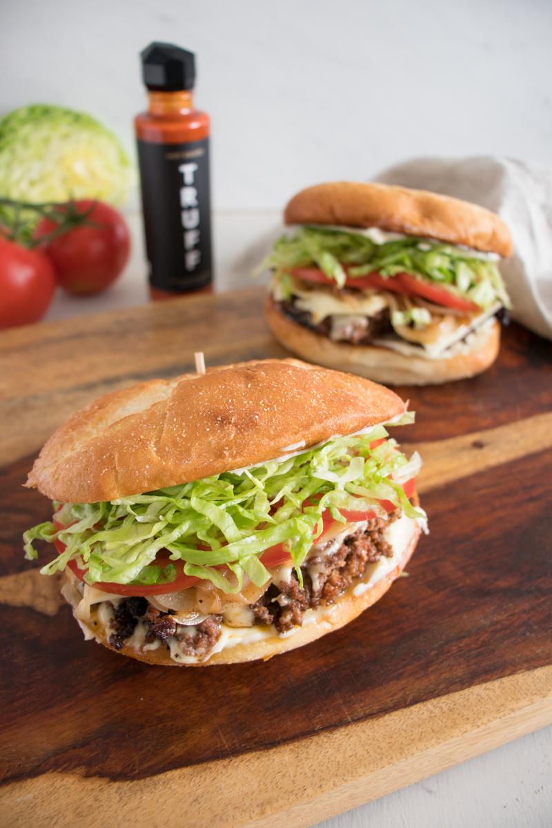 NY-Style TRUFF Chopped Cheese Sandwich
