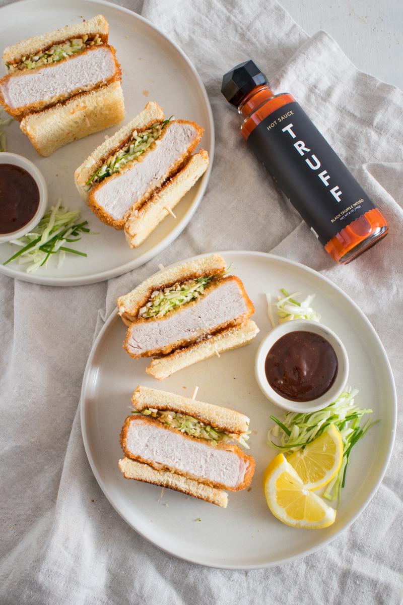 TRUFF Pork Katsu Sandwich