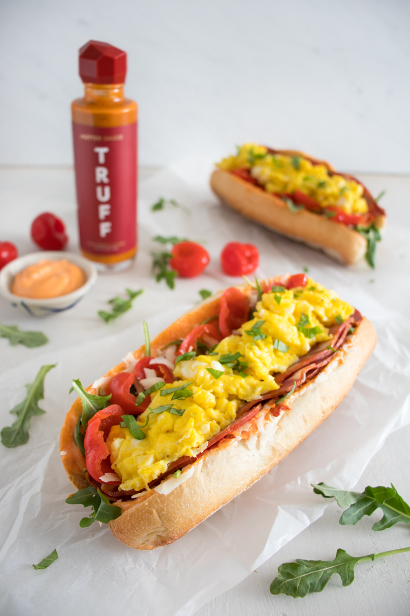 Diablo Breakfast Hoagie