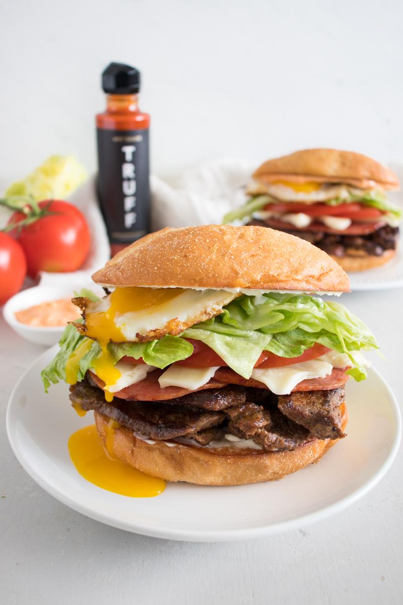 TRUFF Ultimate Chivito Sandwich
