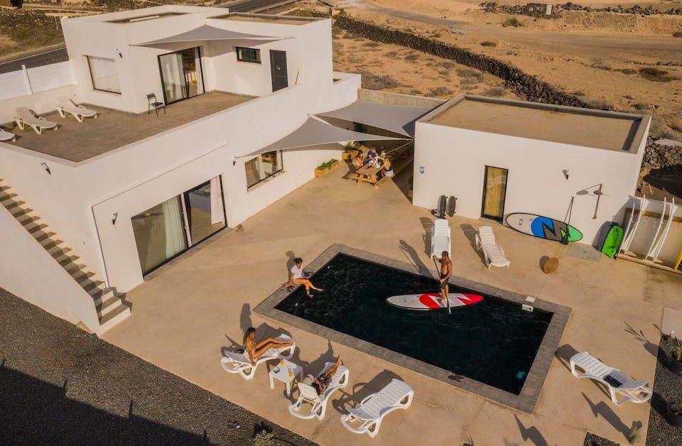Surf Villa El Roque - Surf'n Sleep - Private Suite